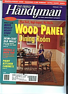 The Family Handyman - February 1996 (Image1)