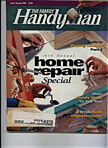 The Family Handyman - July/august 1997
