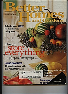 Better Homes and Gardens - October 1998 (Image1)