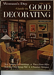 Woman's Day  guide to GOOD DECORATING # 7 (Image1)