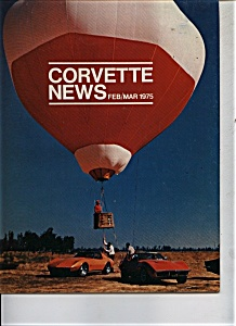 Corvette News - Feb/march 1975