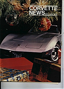Corvette News - Dec/ Jan. 1976