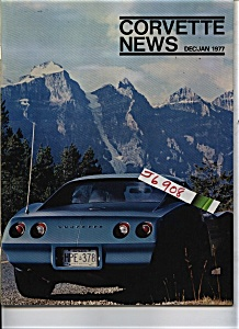 Corvette News Dec./ Jan 1977