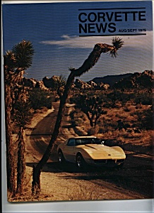 Corvette News Aug/sept. 1975