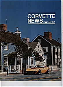 Corvette News Dec/jan. 1975