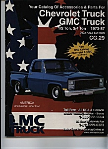 Chevrolet Truck - GMC Truck Catalog -  2002 fall editio (Image1)