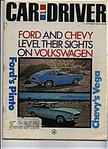 Car and Driver - September 1970 (Image1)