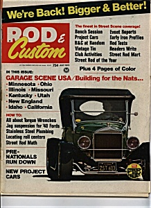 Rod & Custom - July 1972 (Image1)