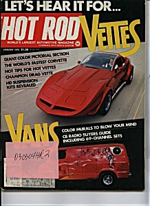 Hot Rod - January 1976