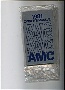 AMC  Owners Manual 1981 (Image1)