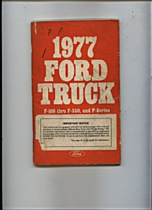 1977 Ford Truck Manual (Image1)