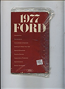 1977 Ford Manual (Image1)