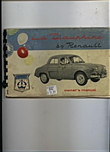 La Dauphine by Renault owners Manual (Image1)