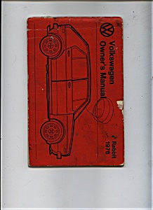 Volkswagon 1976 Owner'sManual (Image1)