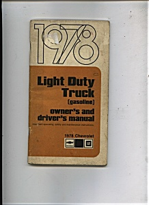 1978 Chevrolet Truck Manual (Image1)