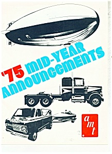 1975 Amt Model Car Zeppelin ++ Kit Catalog Rare