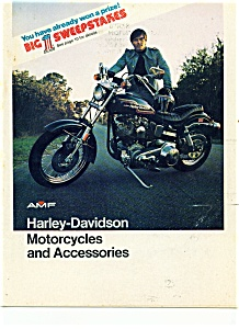 AMF lHarley Davidson Motorcycles & Accessories  1975 (Image1)