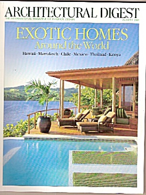 ARchitectural Digest -  August 2004 (Image1)