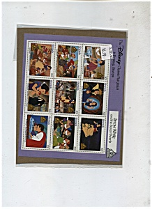 Grenada Stamps - Snlow White & the seven Dwarfs (Image1)