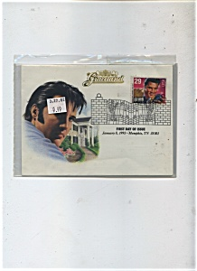 First Day Cover - Elvis Presley stamp 1993 (Image1)