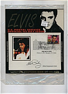 Elvis Presley Official first day  stampissue (Image1)