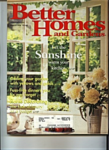 Better Homes & Gardens - March 1998 (Image1)