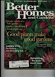 Better Homes and Gardens - April 1999 (Image1)