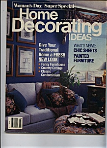 Woman's Day Home Decorating Ideas - March 1989
