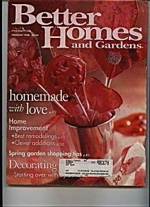Better Homes & Gardens-  February 1998 (Image1)