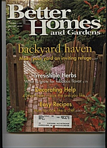 Better Homes and Gardens - May 1999 (Image1)