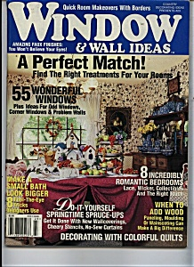window & Wall Ideas - Copyright 1995 (Image1)