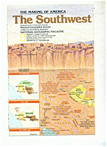 Map of Southwest U.S.  -  Novemb er  1982 (Image1)