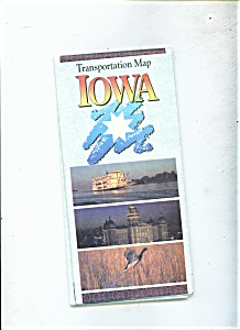 Transportation Map  Iowa State -  From 1980 census (Image1)