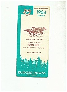 Ruidoso Downs, New Mexico Program 1964 (Image1)