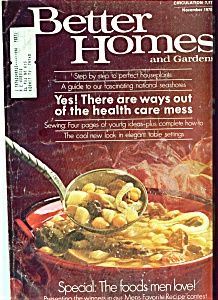 Better Homes and Gardens - November 1970 (Image1)