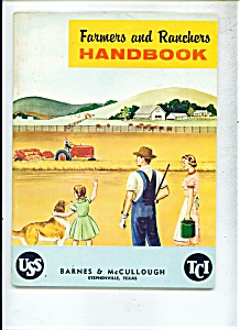 Farmers and Ranchers Handbook -   1956 + (Image1)