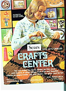 Sears Crafts Center Catalog 1972-1973