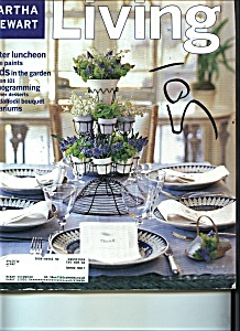 Martha Stewart LIVING  April 1998 (Image1)