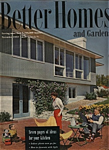 Better Homes and Gardens - November 1953 (Image1)