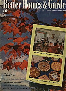 Better Homes & Gardens - October 1941 (Image1)
