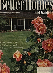 Better Homes and Gardens -  February 1953 (Image1)