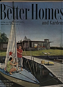 Better Homes and Gardens - August 1953 (Image1)