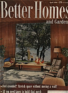 Better Homes and Gardens - April 1954 (Image1)