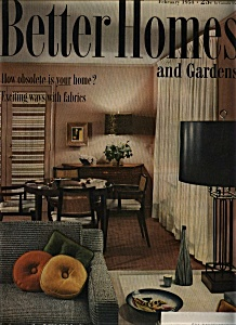 Better Homes and Gardens- February 1954 (Image1)