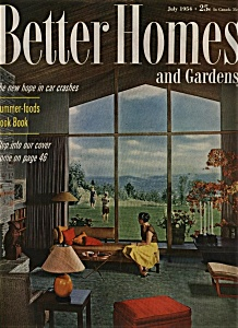 Better Homes and Gardens - July 1954 (Image1)