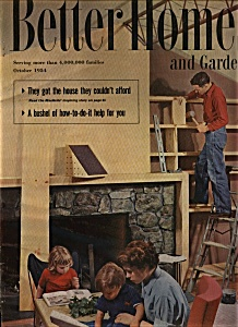 Better Homes and Gardens - October 1954 (Image1)