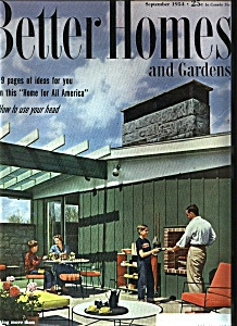 Better Homes And Gardens - September 1954