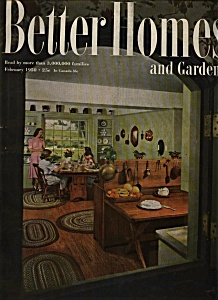Better Homes And Gardens - February 1950