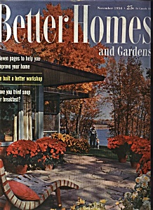 Better Homes and Gardens - November 1954 (Image1)