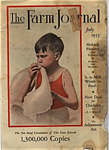 The Farm Journal - July 1933 (Image1)
